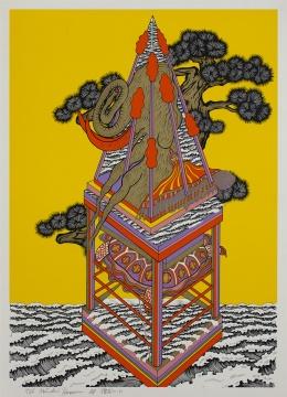 《常磐松(C)》,田名网敬一,Courtesy of the artist and NANZUKA