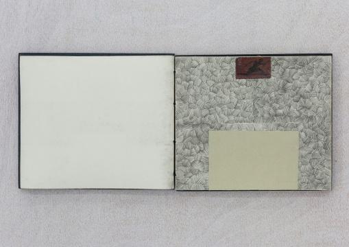 刘文涛 《无题》 长页 12.3×25.4 cm,短页12.4×7.8 cm 2004