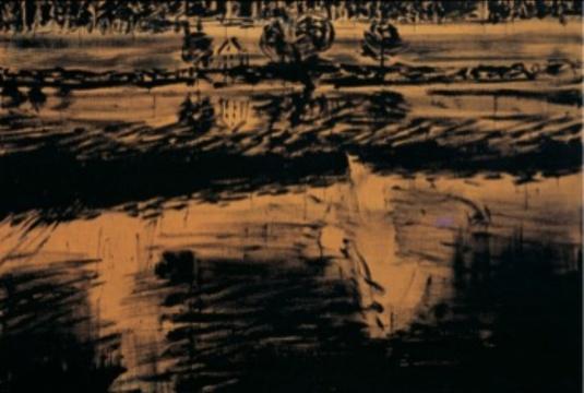 安塞姆·基弗《阿拉里希的坟墓》 220×300cm 布面油彩 1975