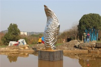 """27度角,首个""""生态雕塑""""双年展何以塑造武汉生态?"""