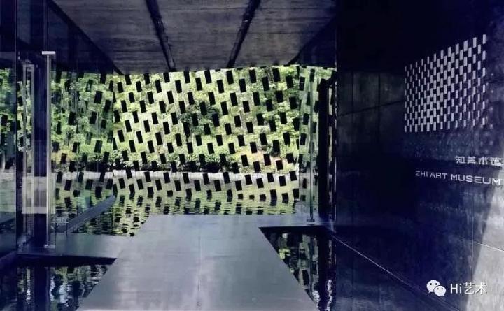 超颜值的知美术馆本身也是一件艺术品