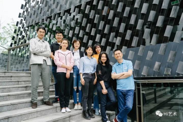 知美术馆年轻而富有活力的团队