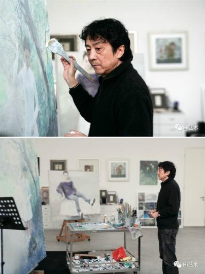 这两张照片拍摄于2012年(摄影:赵秀文 ),曾刊登于《Hi艺术》2012年4月刊