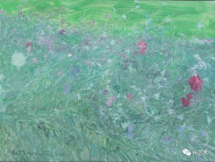 《杂花写生No.1-01》 60x80cm 布面油画2011