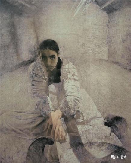 《小翟》 110x167.5cm布面油画1987