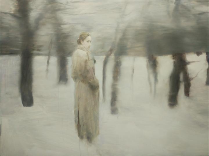 《俄罗斯森林(青铜时代)》150×200cm 布面油画 2017
