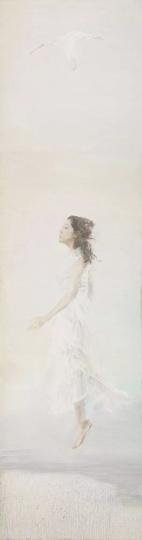 《风》300x80cm布面油画2013