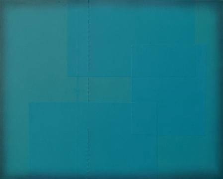 黄佳,《2017.5月》,100x80cm,布面油画,2017