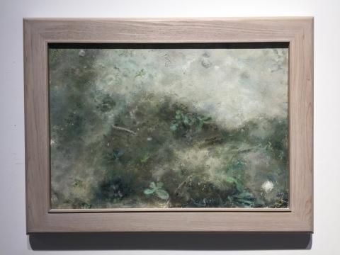 《片段系列-5》 35×50cm 布面油画 2017