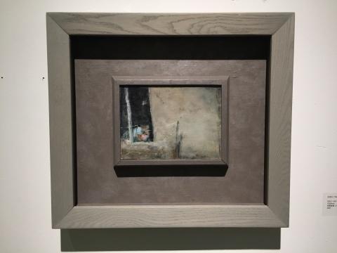 《日记-28》 15×20cm 布面油画 2007