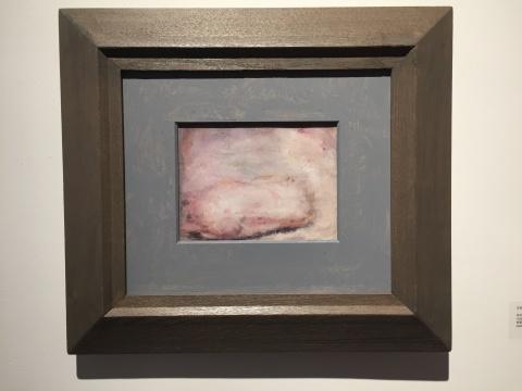 《日记-21》 15×20cm 布面油画 2006
