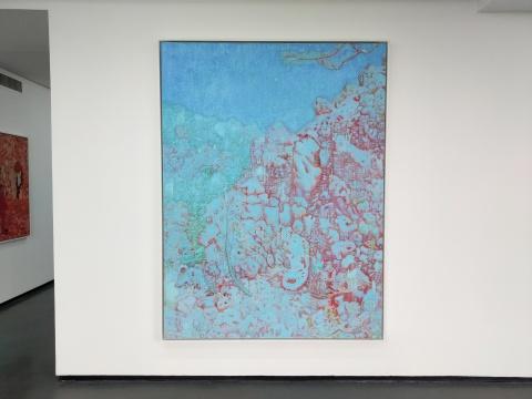 《东山雪霁No.5》 200x150cm 布面油画 2018