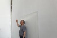 """76岁的韩国前卫艺术大师李健镛,把""""桃心""""画进佩斯北京,李健镛"""