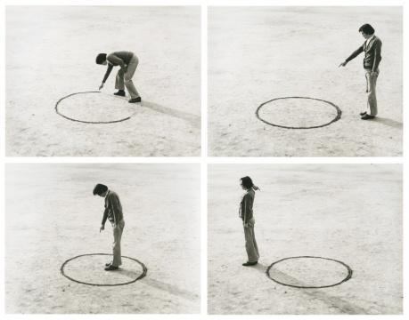 李健镛《地点的逻辑》51.3 x 61cm 照片1975