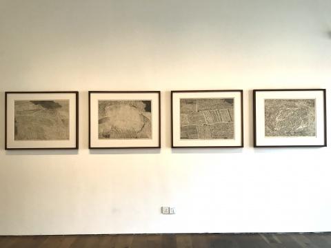 徐冰创作于1988年的版画