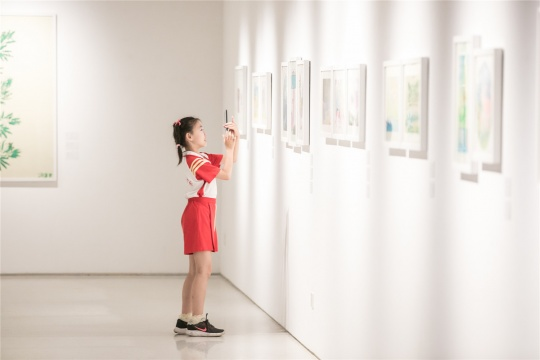 """""""童画时代""""展览现场"""