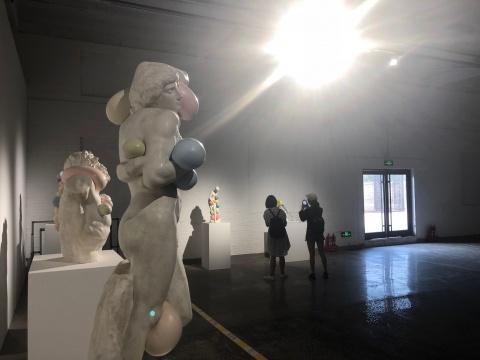 平遥国际雕塑节展览现场