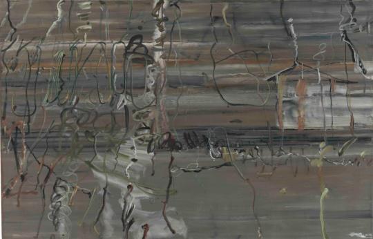 王川《欲罢》130 x 200 cm 布面油画 2006