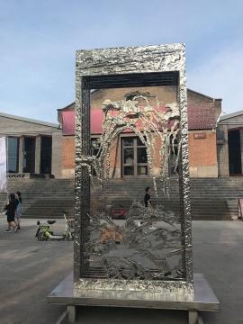 首届平遥国际雕塑节展场外雕塑