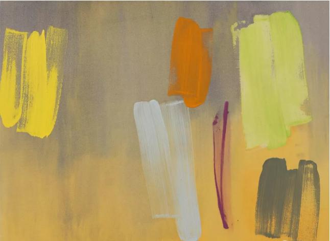 约翰· 麦克林《阿尔卡萨》103.5×130cm 布面丙烯 1984 偏锋新艺术空间