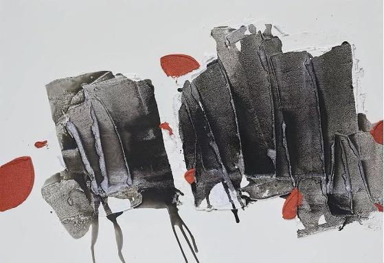 布日固德 《无题》 60×80cm 综合材料 2017 龙吟雅风