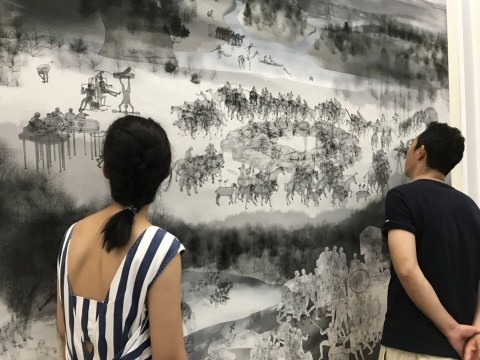 融杂:绘画的幽灵展览现场