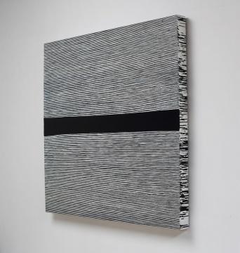 王光乐《寿漆180507》 布面丙烯 146 ×146 cm 2018