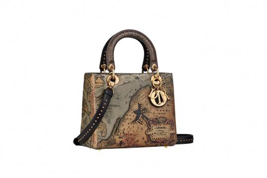 Dior Lady Art 艺术家限量合作系列手提包
