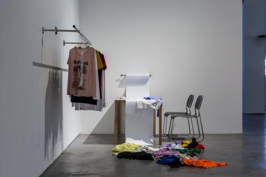 山寨歌词,《公开档案》 服装,尺寸可变,2015-2018