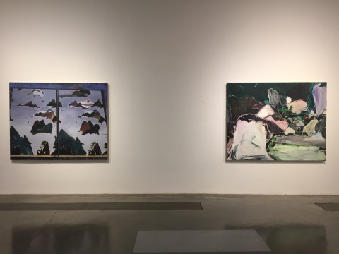 """""""夏季群展——绿光(第二回)""""展览现场"""
