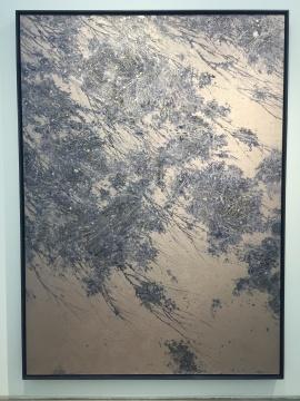 潘剑 《C-170108》 250×180cm 布面丙烯、木框 2017