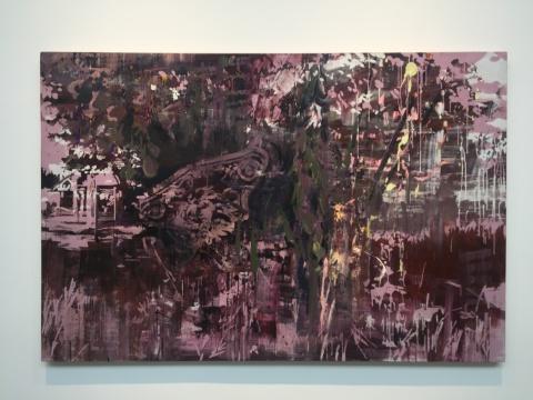 吕松 《swallow》 140×210cm 布面油画 2015