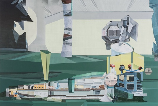 朱烨 《潘塔纳尔水域》 布面油画 200×300cm 2017