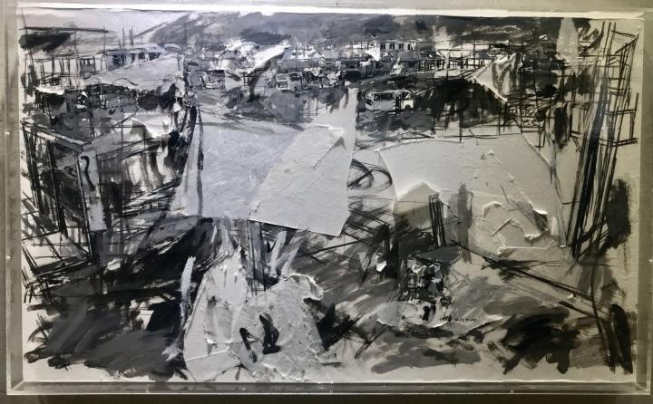 他们身居六线城市,却在国境线上的鸭绿江美术馆呈现了一场超乎想象的展览