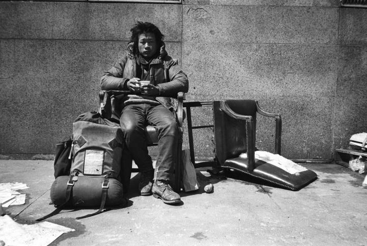 谢德庆 《户外》1981-1982