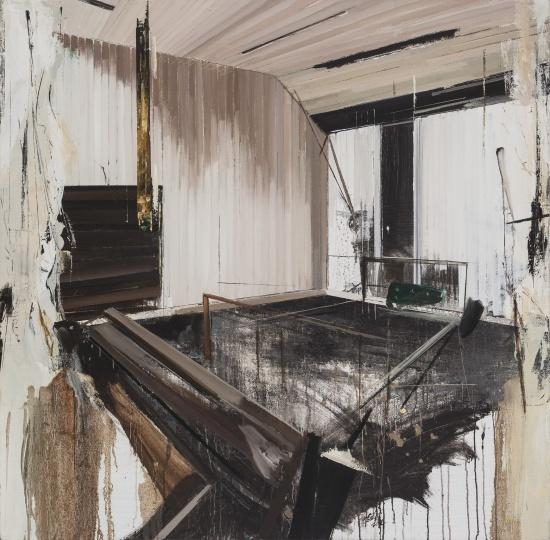 刘超《回声》 150×150cm 布面油画 2014