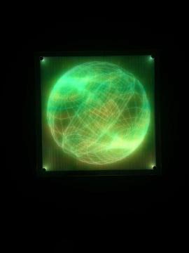 《未完成星球》系列玻璃、亚克力、LED灯 2018