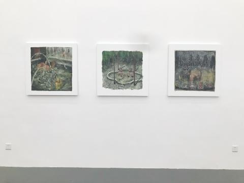 他通过一些带有元绘画色彩的实践,将自身从定义与概念的框架中解放出来。观念性的转向反而成为其作品更具有多元色彩和走入现实的杠杆。