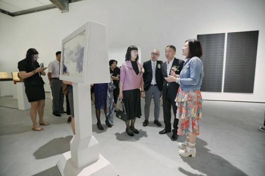 2018港澳视觉艺术双年展展览现场