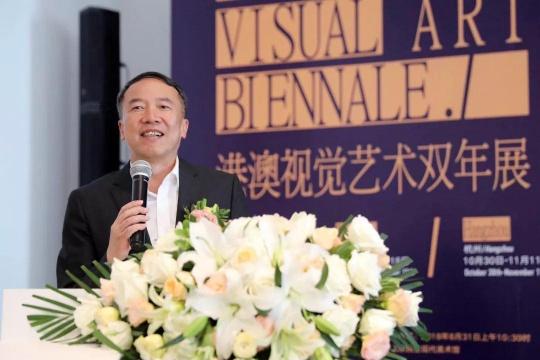 文化和旅游部港澳台办副主任李健钢开幕致辞