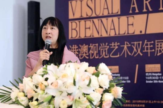 香港特别行政区政府康乐及文化事务署署长李美嫦开幕致辞