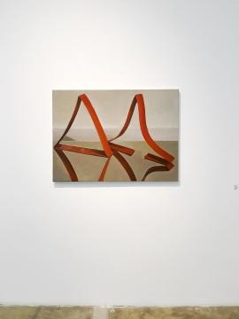 《柔软的三角 》110cm×80cm 布面油画 2017