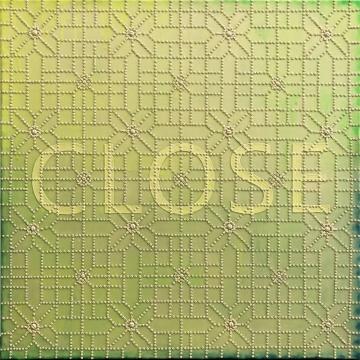 周雅玲 《Close I》 70×70cm 布面综合材料、丙烯 2018