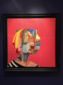 乔治·康多 《阿兹特克宇宙学家》 127×127cm 油画画布 2009  估价:500万-700万港元