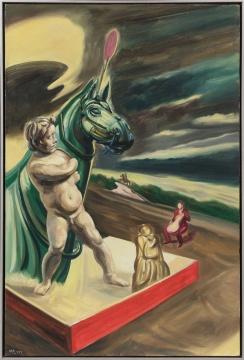 《历史塑造-牧马少年》 150×100cm 布面油画 2018年