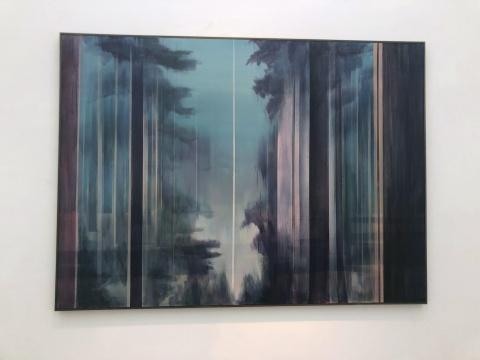 《森林》165×220cm 布面丙烯 2014