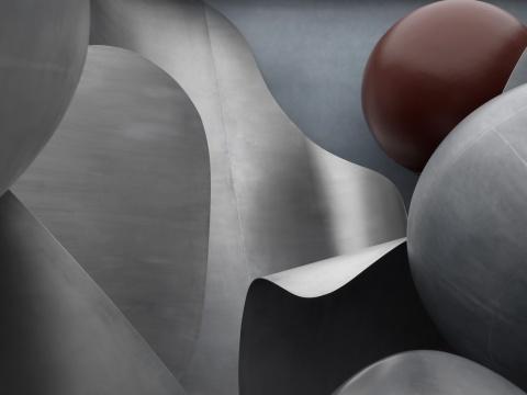 《微观世界》局部 © 刘韡工作室 摄影:雷坛坛 © 林冠艺术基金会