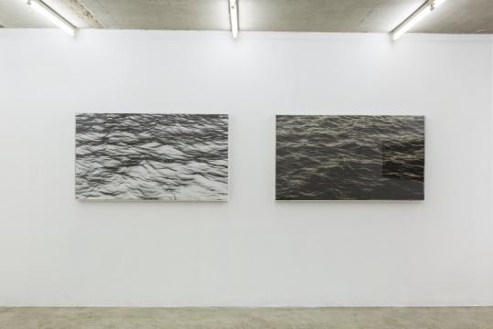 《海面-1984-2》150cm x 85cm x 2 小说页面上素描,收藏级艺术微喷 2018