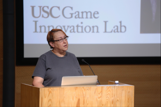 南加州大学游戏系主任Tracy Flullerton
