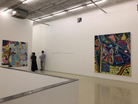吉莲·艾尔斯首次亚洲画廊个展 画面只跟视觉有关
